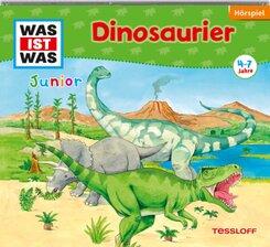 Dinosaurier, 1 Audio-CD - Was ist was junior