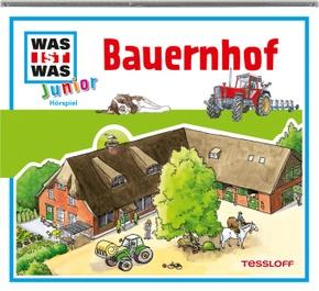 Bauernhof, 1 Audio-CD - Was ist was junior