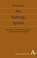 Art, Gattung, System