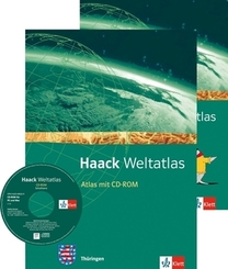 Haack Weltatlas. Ausgabe Thüringen Sekundarstufe I, m. 1 CD-ROM