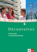 Découvertes: Fit für Tests und Klassenarbeiten, m. CD-ROM/Audio-CD; Bd.4