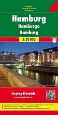 Freytag & Berndt Stadtplan Hamburg; Hamburgo