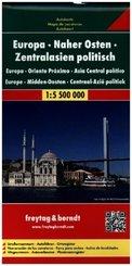 Europe, Midden-Oosten, Centraal-Azie politiek
