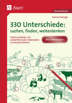 330 Unterschiede: suchen, finden, weiterdenken