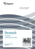 Deutsch, Berichten, Zeitformen des Verbs, Lehrerheft