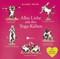 Alles Liebe mit den Yoga-Kühen