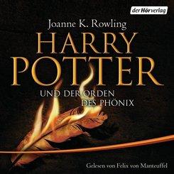 Harry Potter und der Orden des Phönix, 28 Audio-CDs (Ausgabe für Erwachsene)