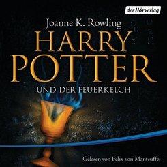 Harry Potter und der Feuerkelch, 21 Audio-CDs (Ausgabe für Erwachsene)