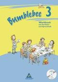 Bumblebee, Ausgabe 2008 für das 1.-4. Schuljahr: 3. Schuljahr, Workbook m. Portfolio-/Sprachheft u. Audio-CD