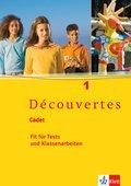 Découvertes, Cadet: Cadet: Fit für Tests und Klassenarbeiten, m. Audio-CD; Bd.1