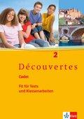Découvertes, Cadet: Cadet: Fit für Tests und Klassenarbeiten, m. Audio-CD; Bd.2
