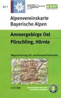Alpenvereinskarte Ammergebirge Ost, Pürschling, Hörnle