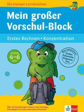 Mein großer Vorschul-Block (Zahlen/Farben)