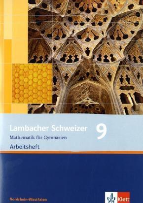 Lambacher-Schweizer, Ausgabe Nordrhein-Westfalen, Neubearbeitung: 9. Schuljahr, Arbeitsheft