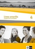 Línea amarilla: Cuaderno de actividades, m. Audio-CD; Bd.4