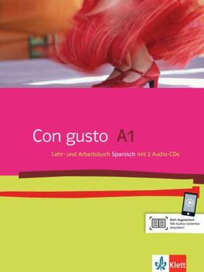 Con gusto: Lehr- und Arbeitsbuch, m. 2 Audio-CDs; Niveau.A1