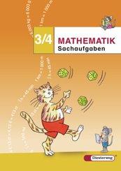 Mathematik-Übungen, Arbeitshefte (2006): Sachaufgaben 3/4