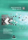 Mathematik Neue Wege, Arbeitshefte: Arbeitsheft 3