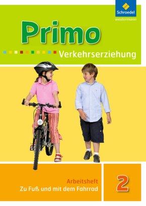 Primo Verkehrserziehung, Ausgabe 2008: 2. Schuljahr, Zu Fuß und mit dem Fahrrad