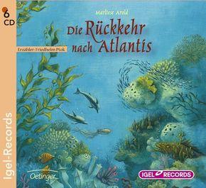 Die Rückkehr nach Atlantis, 6 Audio-CDs