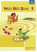 Welt der Zahl, Ausgabe 2009 Nordrhein-Westfalen: 1. Schuljahr, Arbeitsheft