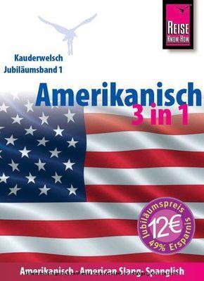 Amerikanisch 3 in 1