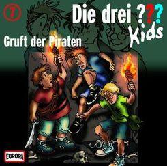 Die drei ???-Kids - Gruft der Piraten, 1 Audio-CD