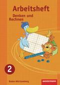 Denken und Rechnen, Grundschule Baden-Württemberg, Ausgabe 2009: 2. Schuljahr, Arbeitsheft