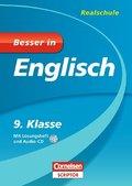 Besser in Englisch, Realschule; 9. Klasse, m. Audio-CD