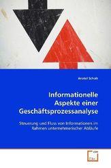 Informationelle Aspekte einer Geschäftsprozessanalyse (eBook, PDF)