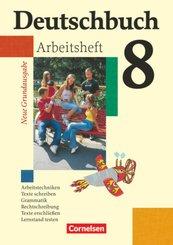 Deutschbuch, Neue Grundausgabe: Deutschbuch - Sprach- und Lesebuch - Grundausgabe 2006 - 8. Schuljahr