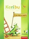 Karibu: Arbeitshefte Teil A und B, Klasse 1, 2 Bde. m. CD-ROM