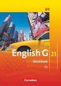 English G 21, Ausgabe B: 8. Schuljahr, Workbook m. Audio-CD; Bd.4