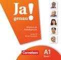 Ja genau! - Deutsch als Fremdsprache: 1 Audio-CD für den Kursraum; Bd.A1/1