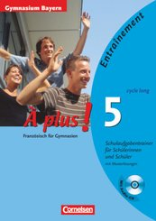 À plus!: Schulaufgabentrainer (cycle long), m. Audio-CD; Bd.5
