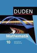 Duden Mathematik, Ausgabe Gymnasium  Brandenburg: 10. Klasse, Lehrbuch