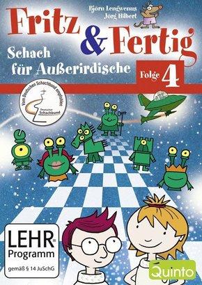 Fritz & Fertig, 1 CD-ROM für PC - Folge.4