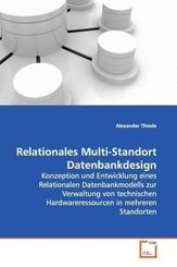 Relationales Multi-Standort Datenbankdesign (eBook, PDF)