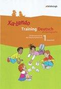 Xa-Lando, Training Deutsch als Zweitsprache: 1. Schuljahr, Arbeitsheft