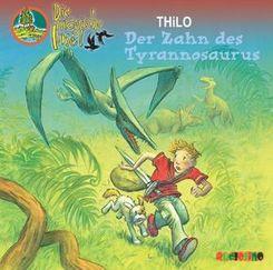 Die magische Insel - Der Zahn des Tyrannosaurus, 2 Audio-CDs