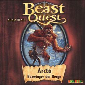 Beast Quest - Arcta, Bezwinger der Berge, 1 Audio-CD