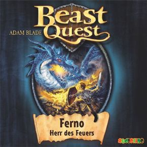 Beast Quest - Ferno - Herr des Feuers (1 Audio-CD)