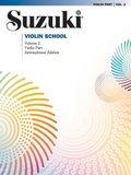 Suzuki Violin School, Revised Edition, Violin Part - Vol.2