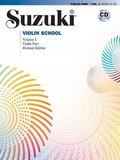 Suzuki Violin School, Revised Edition, Violin Part, w. Audio-CD - Vol.1