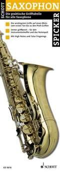 Saxophon Spicker (Folder)