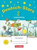 Deutsch-Stars: 2. Schuljahr: Lesetraining