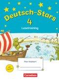 Deutsch-Stars: 4. Schuljahr: Lesetraining