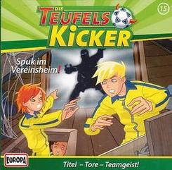 Die Teufelskicker - Spuk im Vereinsheim!, 1 Audio-CD