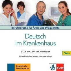 2 Audio-CDs zum Lehr- und Arbeitsbuch