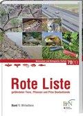 Rote Liste gefährdeter Tiere, Pflanzen und Pilze Deutschlands - Bd.1
